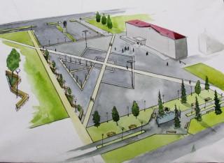 Принимаются предложения по благоустройству площади Советов