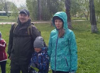 Папа, мама, я - туристская семья