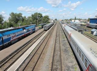 День железнодорожника в Котласе